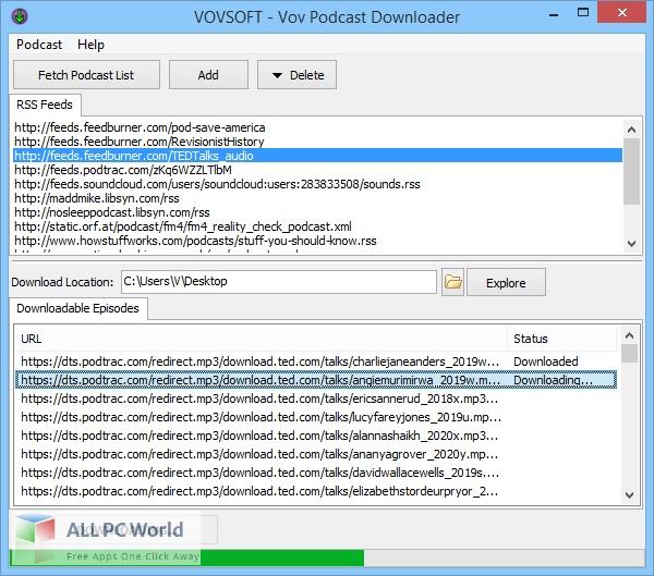 Vovsoft-Podcast-Downloader-Free-Download