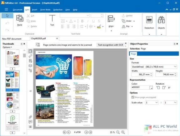 PixelPlanet PdfEditor Professional 4.0 Free Download