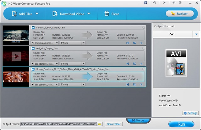 WonderFox HD Video Converter Factory Pro Single Click Download