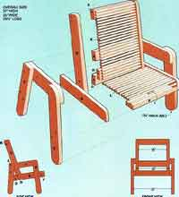 over 100 free outdoor woodcraft plans