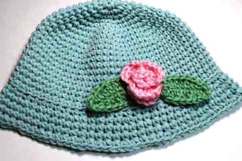 Crochet Summer Baby Hat