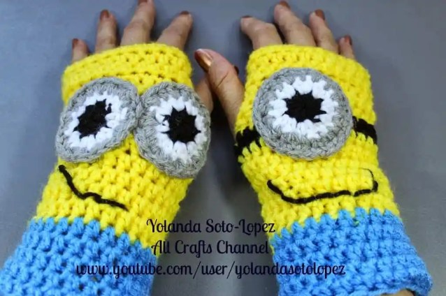Photo oF Minon Fingerless Gloves