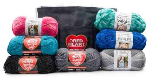RedHeart Yarn Giveaway Bag