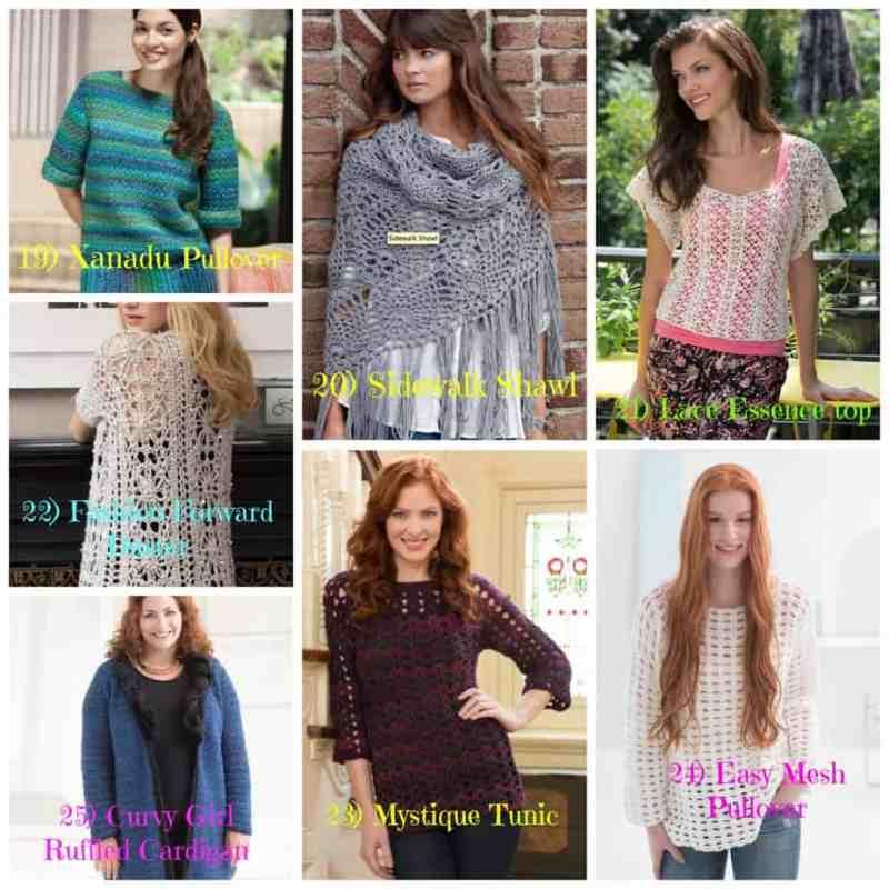 Photo Plus Size Crochet Garments