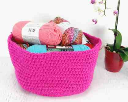Learn to Crochet Baskets
