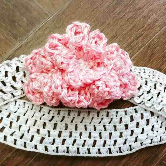Easy To Crochet Flower Headbands All Crafts Channel