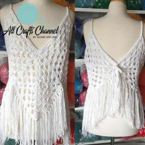 Easy, Breezy, Beautiful Crochet Top