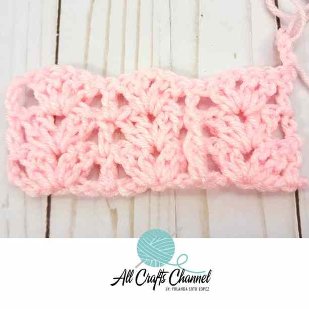 Crochet Shell & Post Stitch