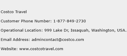 Costco Travel Number   Costco Travel Customer Service ... on Costco Number id=33460