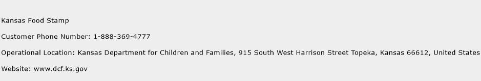 Food Stamp Contact Number