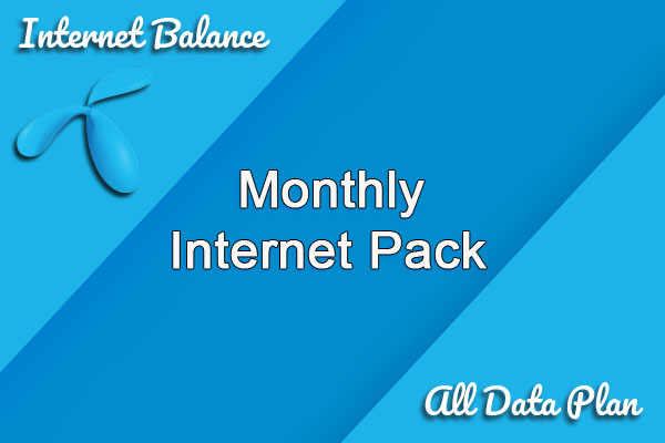 Monthly Internet Pack