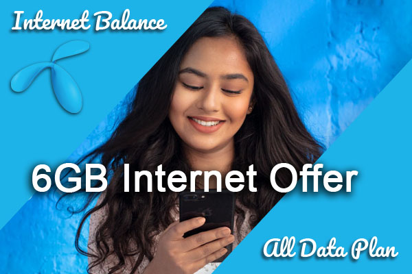 6GB Internet Offer
