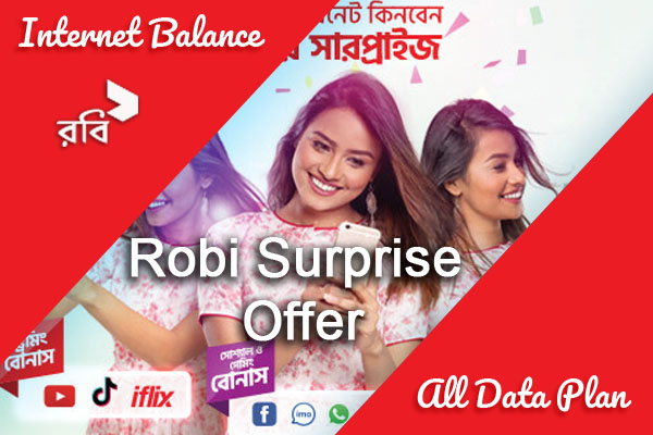 Robi Surprise Offer package