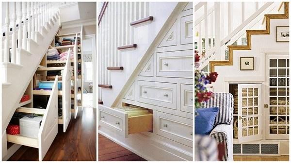 Original Under Stairs Storage Space Ideas Alldaychic | Living Room Design Under Stairs | Kid | Space Saving | Luxury Modern | Small Space | Storage