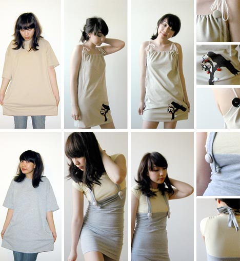 Fashion Turning New Old Clothes