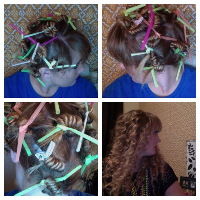 Curl Your Hair With Drinking Straws AllDayChic