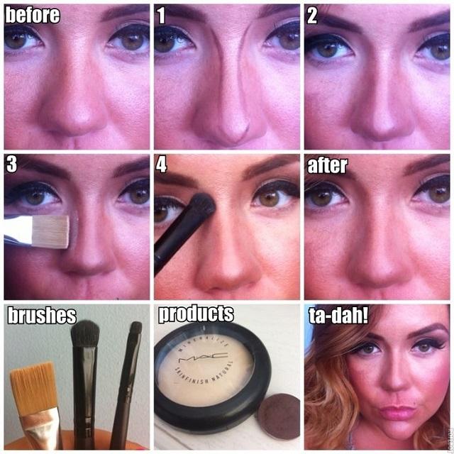 Makeup Tricks That Help Your Nose Look