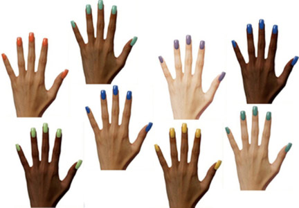 how to match nail polish color to skin tone alldaychic