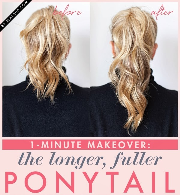 Trick to Make  Your Ponytail Look  Longer  AllDayChic
