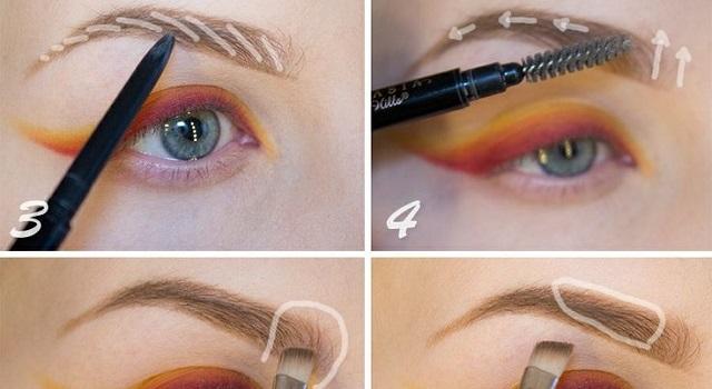 Eyebrows Shaping Technique AllDayChic