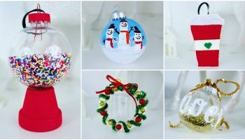 Give Your Tree A Feminine Touch With These Colorful Christmas Ornaments You Can Make At Home