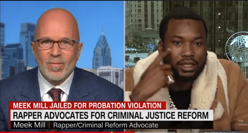 Watch Meek Mill Verbally Abuse CNN Host By Stating Big Facts #CriminalJusticeReform