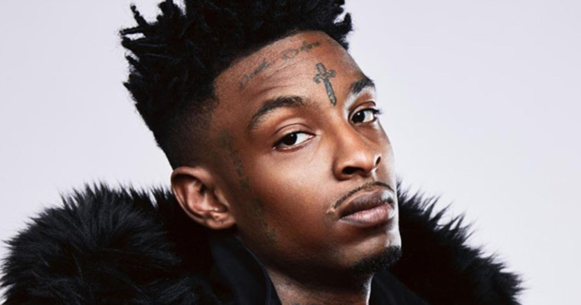 21 SAVAGE IS BACK ON THE STREETS