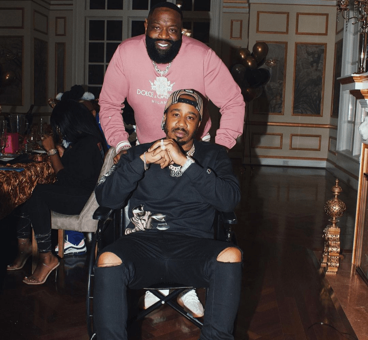 BENNY THE BUTCHER BREAKS BREAD WITH RICK ROSS