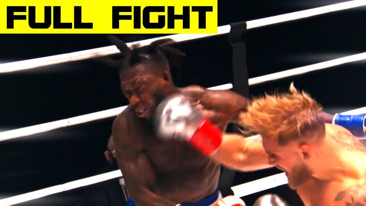 SEE JAKE PAUL'S BRUTAL KNOCKOUT PUNCHES ON NATE ROBINSON