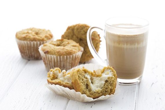 Fall flavors in a low carb muffin! These pumpkin cream cheese muffins are always a hit