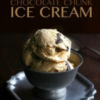 Salted Caramel Chocolate Chunk Ice Cream