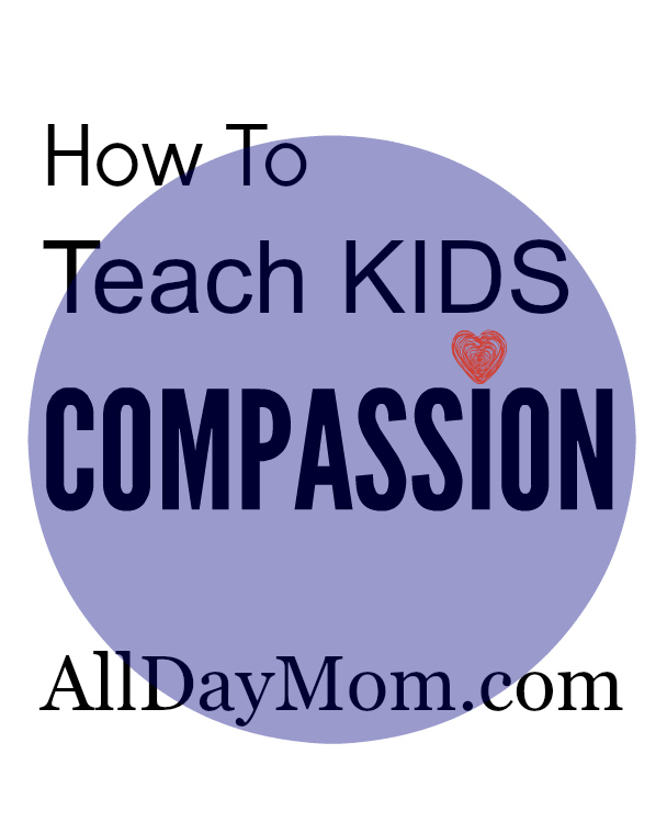 How do you teach your kids to be compassionate? Learn about parenting with purpose and developing your children's character.