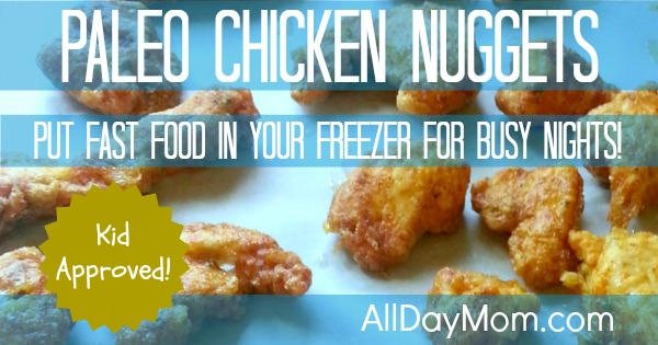 Paleo chicken nuggets recipe kid approved these paleo chicken nuggets are kid approved they taste exactly like regular chicken nuggets forumfinder Image collections