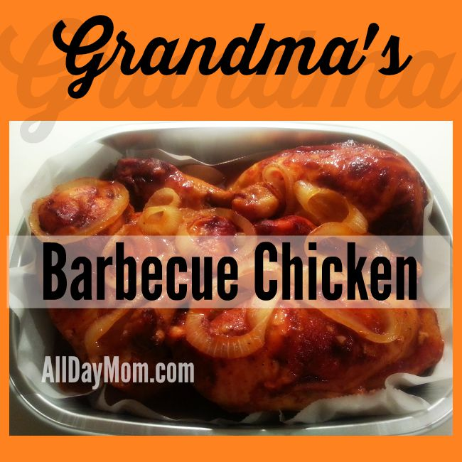 Grandma's Barbecue Chicken Recipe: Easy Gluten Free Recipe with 3 Ingredients!