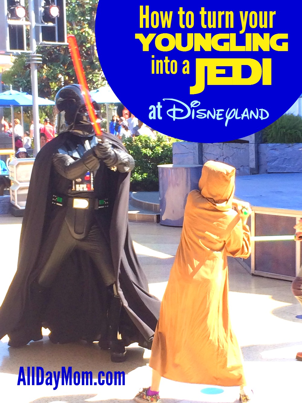 Disneyland Jedi Training Academy: Trials of the Temple - How to guide - Who wants to be a Jedi?