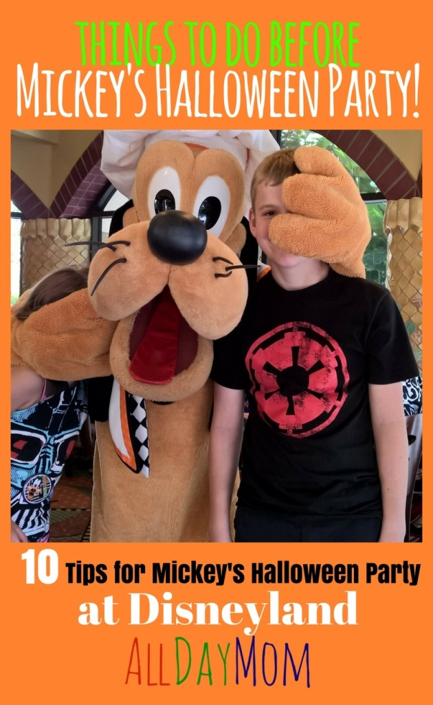 Things to Do before Mickey's Halloween Party Starts: 10 Disneyland Tips for Mickey's Halloween Party