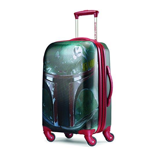 """Boba Fett suitcase American Tourister 21"""" spinner"""