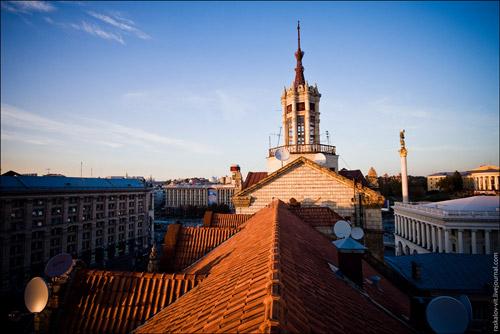 Город Киев - высотный и подземный. Альтернативная прогулка с Виталием Раскаловым