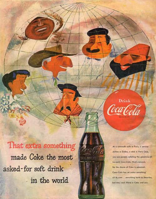 Всегда Coca-Cola! История легендарной газировки в рекламных плакатах