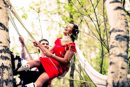 Just Married! Альтернативный взгляд на свадебную фотографию Максима Гарибальди