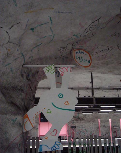 Стокгольмское метро - самая длинная художественная галерея мира