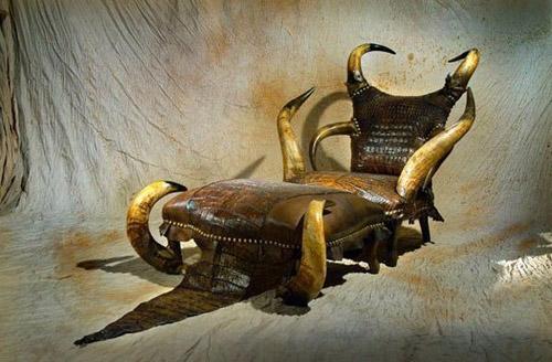 Дикая мебель от Michel Haillard. Охота на интерьер начата!