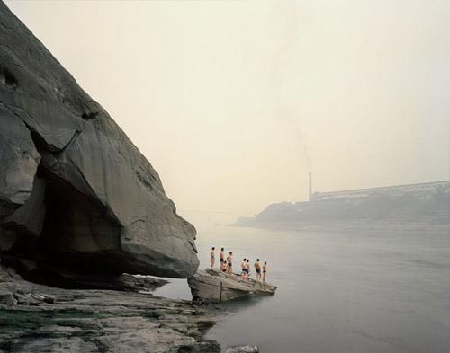 Река Янцзы, длинная как жизнь. Взгляд фотографа Nadav Kander