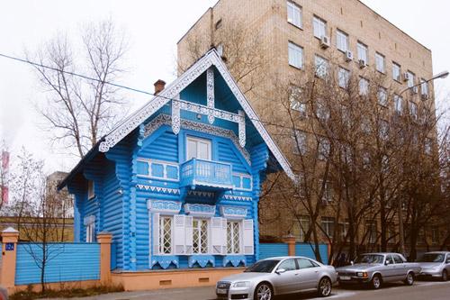 Москва деревянная. Старое и новое - бок о бок