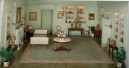 Белый Домик. Миниатюрная копия американского White House