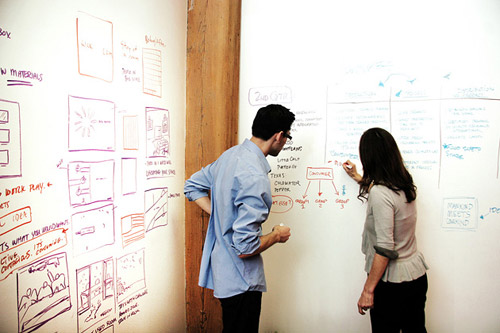 Покрытие для стен IdeaPaint для любителей порисовать