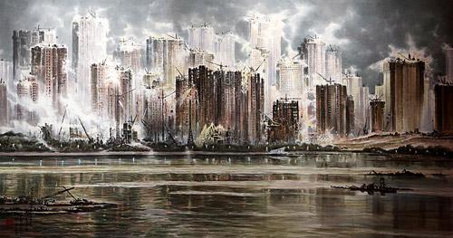 «И подо льдом течет вода». Выставка искусства Северной Кореи