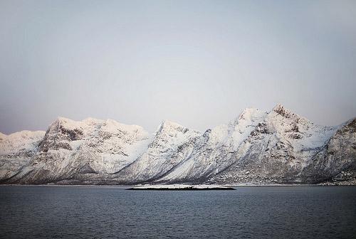 Белым-бело... норвежская зима глазами испанки. 30 фото Lara Alegre