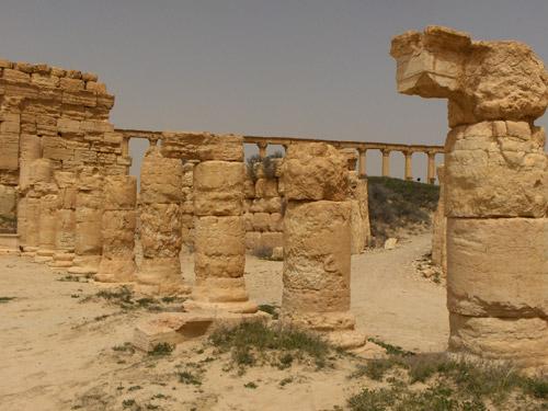 Пальмира. Руины древнего города в сирийской пустыне
