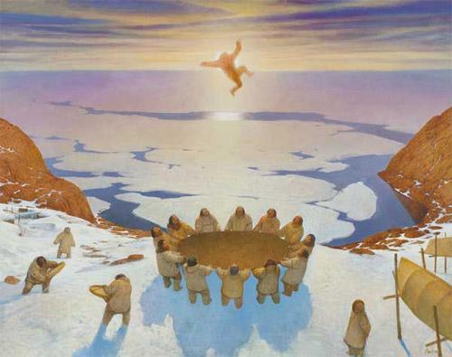 Синее небо шаманов. Этническая живопись Азата Миннекаева